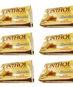 صابون سینثول Cinthol چوب سندلصابون زرچوبه Cinthol + صابون صندل + صابون زردچوبه