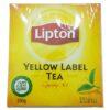 چای کیسه ایی لیپتون 100 عددی