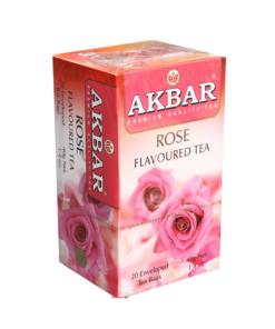 چای گل رز اکبر