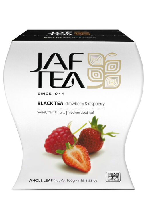 چای توت فرنگی